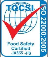 TQCSI:ISO 22000 食品安全マネジメントシステム 審査認証業務